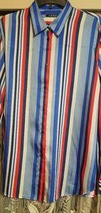 Ralph Lauren Silk long sleeved shirt XXL